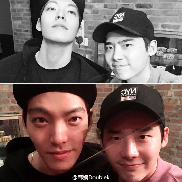Lee Jong Seok Nails Throwback Thursday in New Pics with Kim Woo Bin ...