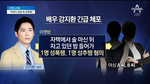 Police Request Pretrial Detention for Kang Ji Hwan in Sexual Assault
